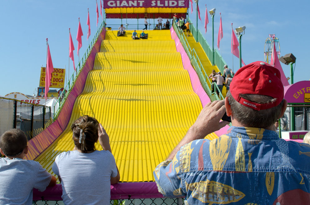 Ohio State Fair Giant Slide