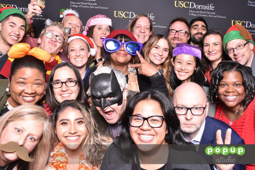 USC Dornsife Holiday Party 2018 - 11/30/2018