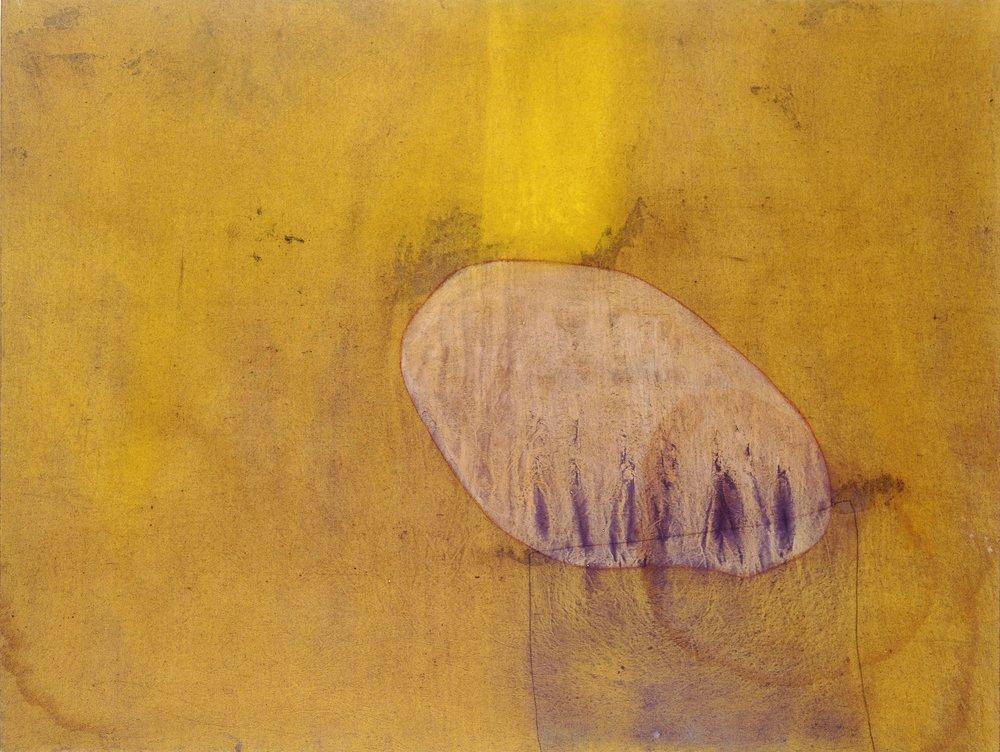 Sense títol , oli i grafit sobre tela, 1990, 150 x 114 centímetres