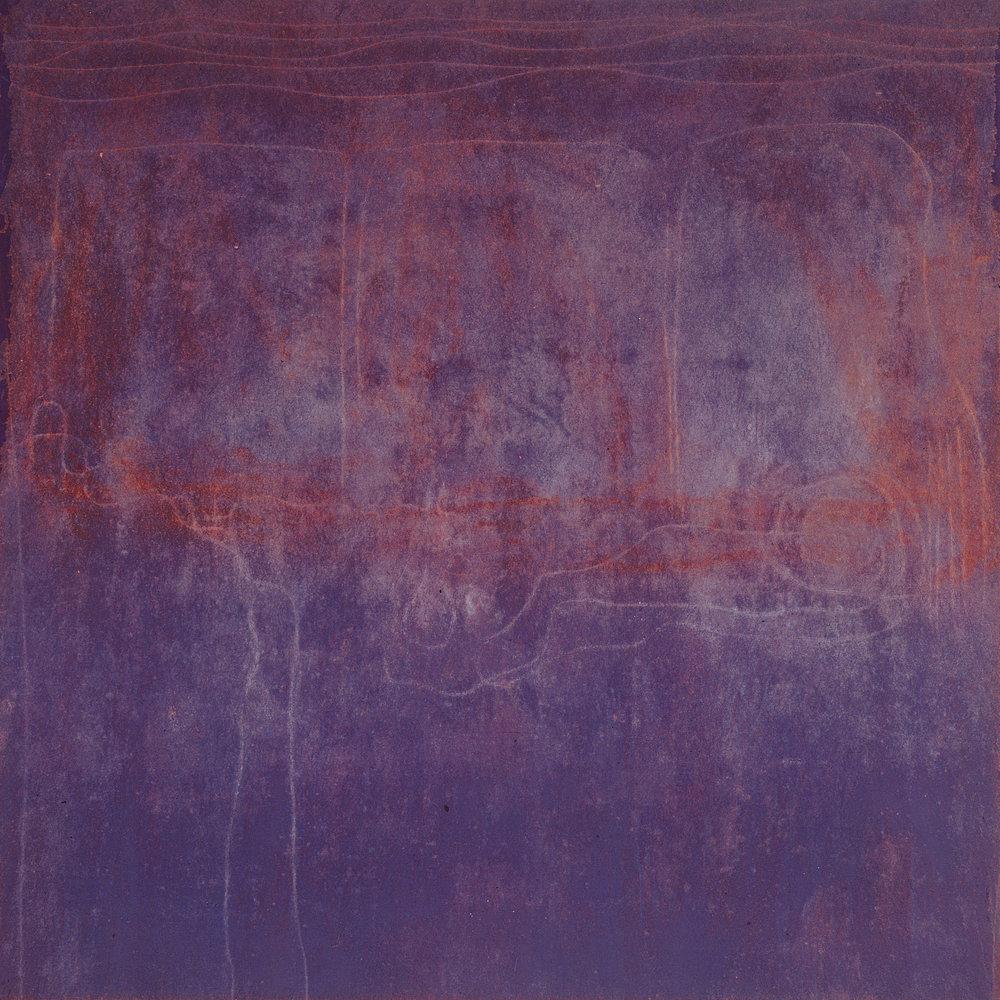 Sense títol , oli i grafit sobre tela, 1991, 150 x 150 centímetres