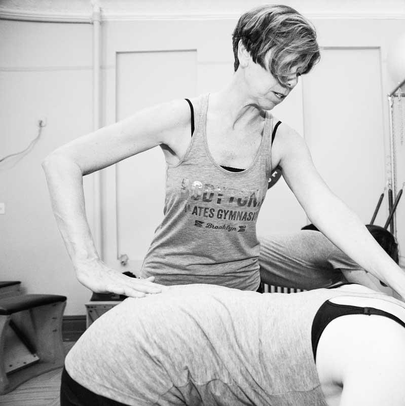 Senior Trainer Peggy Gallagher