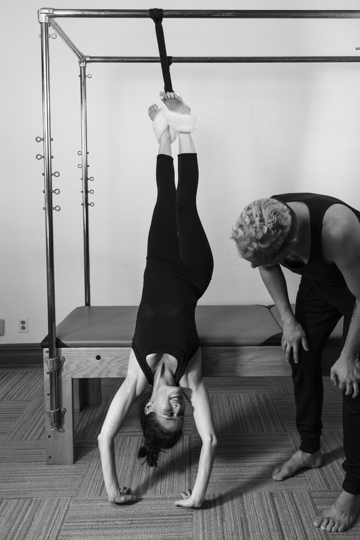 Rachel, a BodyTonic Pilates client