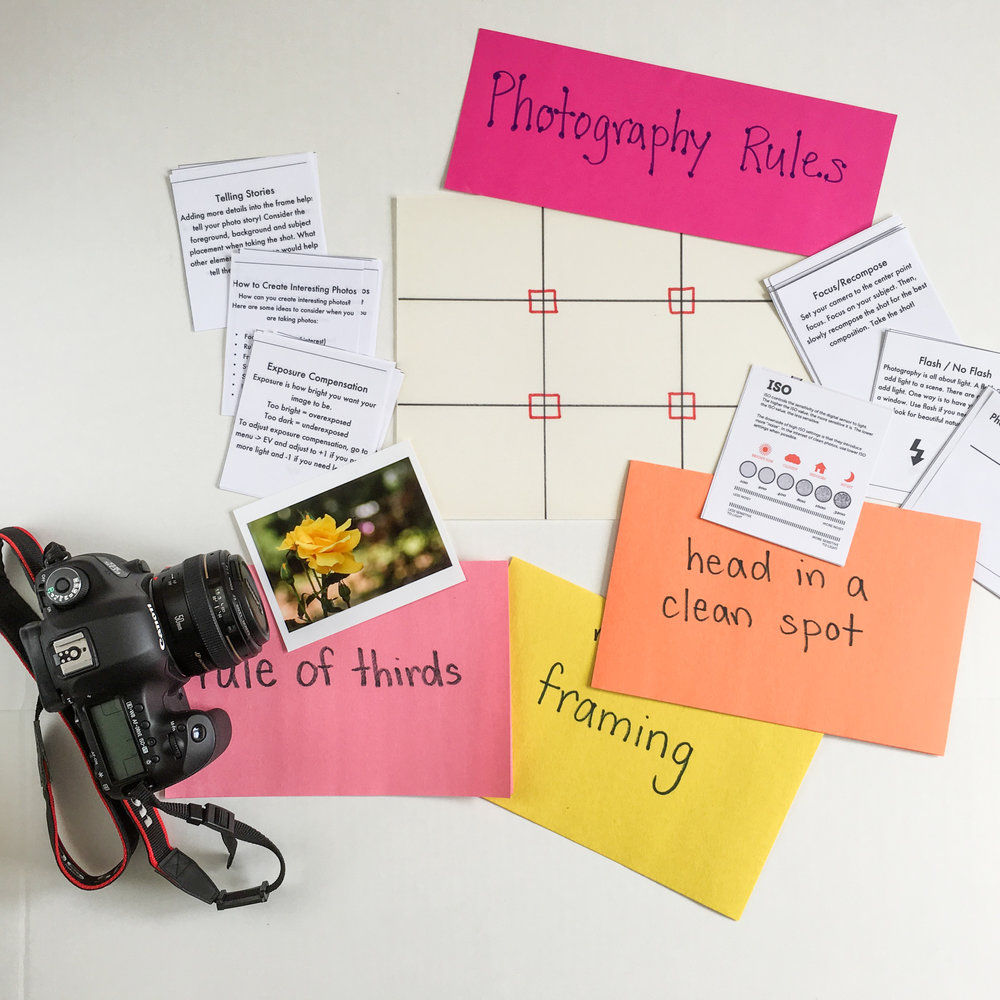 TEACHING  / from the elementary classroom to teaching photography classes + camps for kids