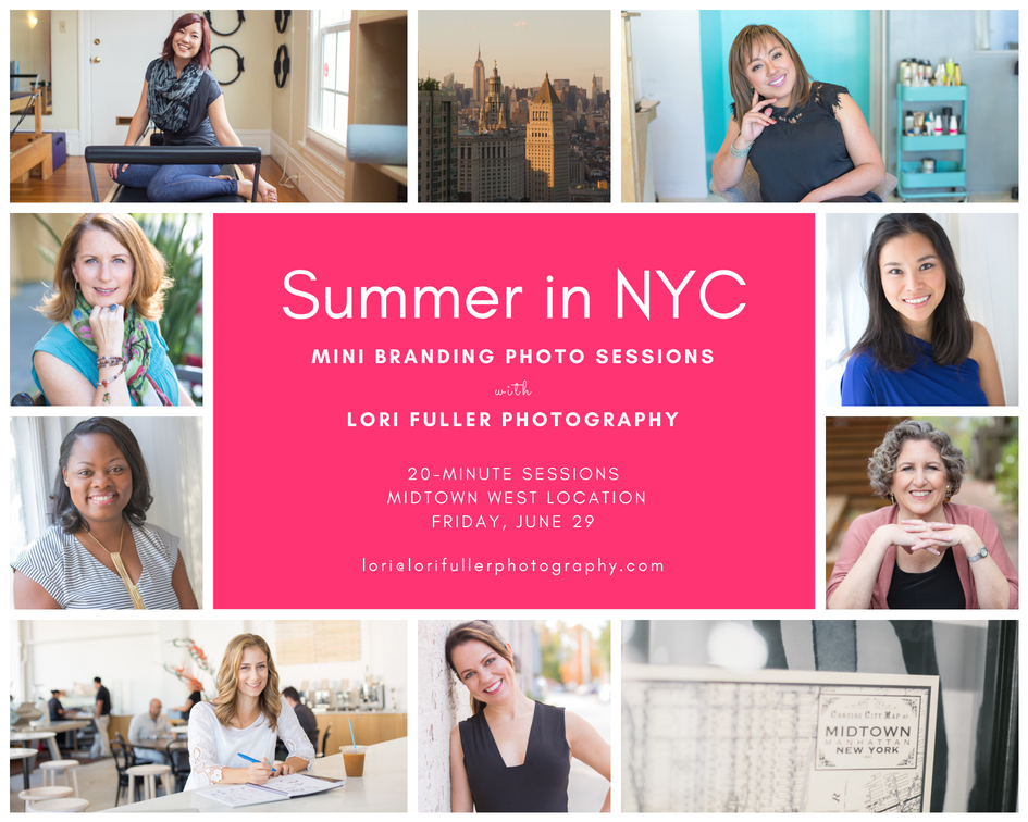 brand photos in NYC with Lori Fuller Photography