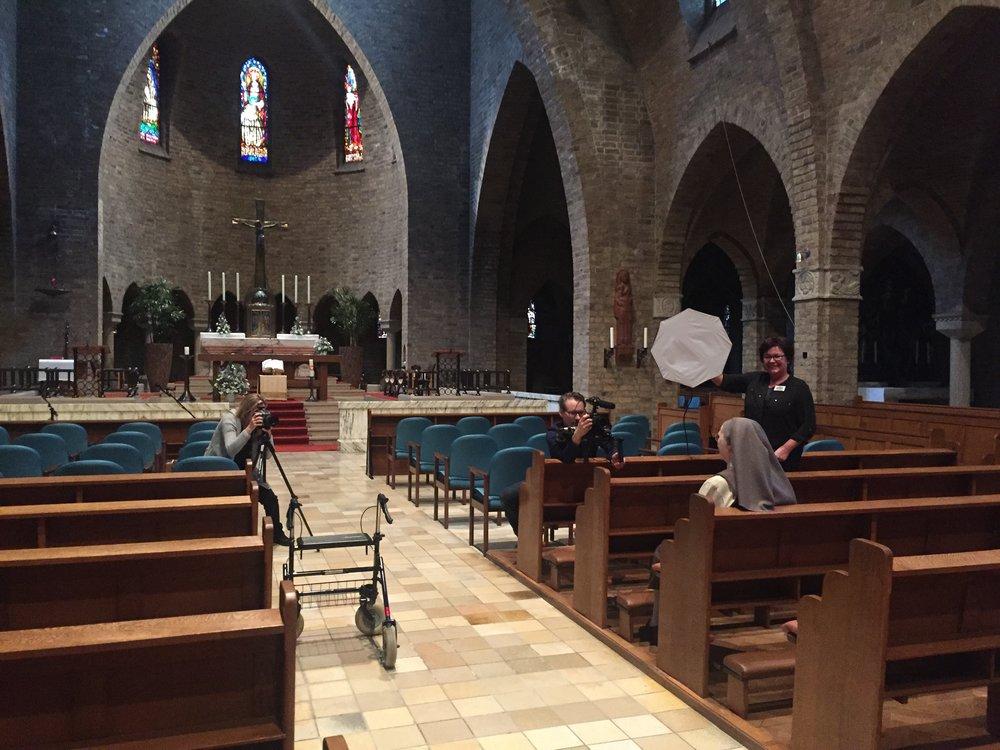 Zr Egberdina uit het Brabantse Veghel mocht ik fotograferen in de kapel van het klooster.