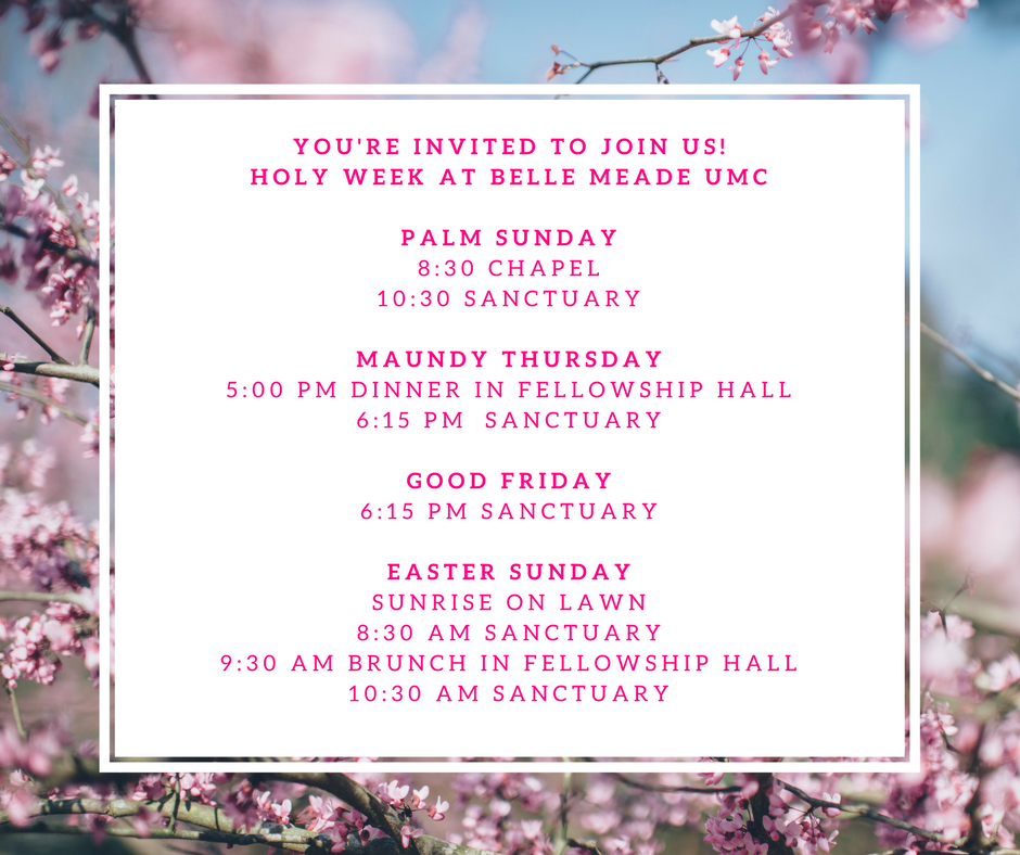 Holy Week Easter
