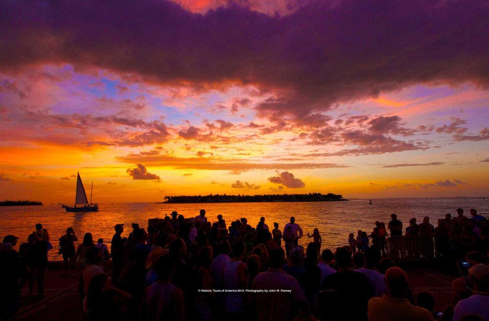 Mallory Square Sunset Celebration photo by John W. Penney
