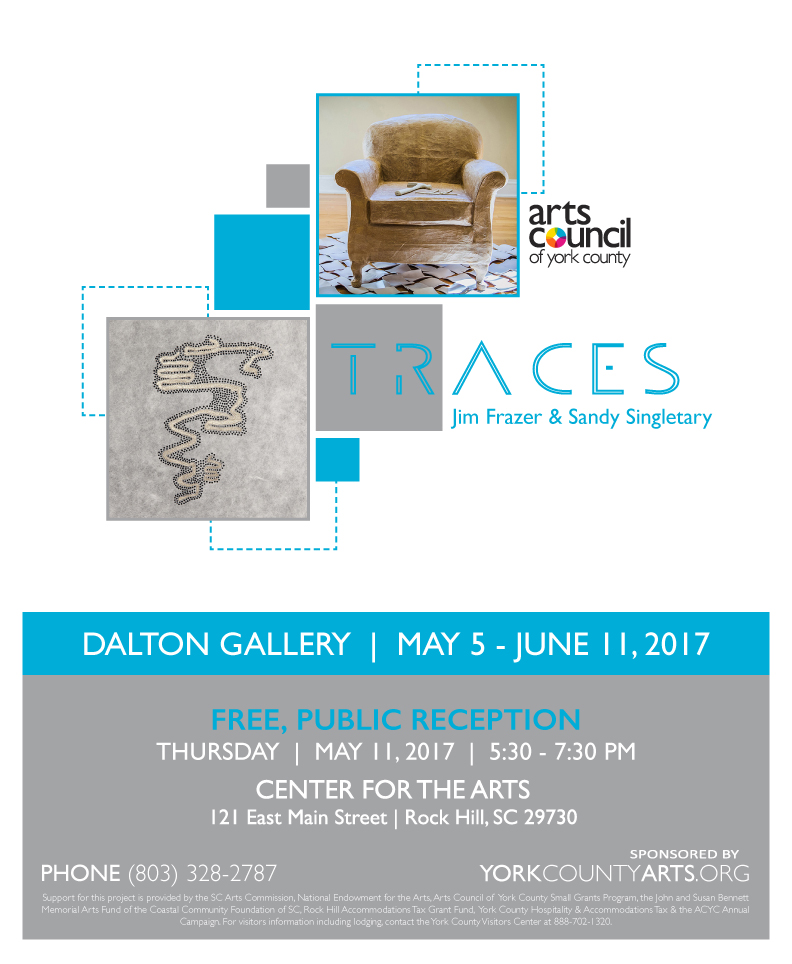 Traces Exhibition poster