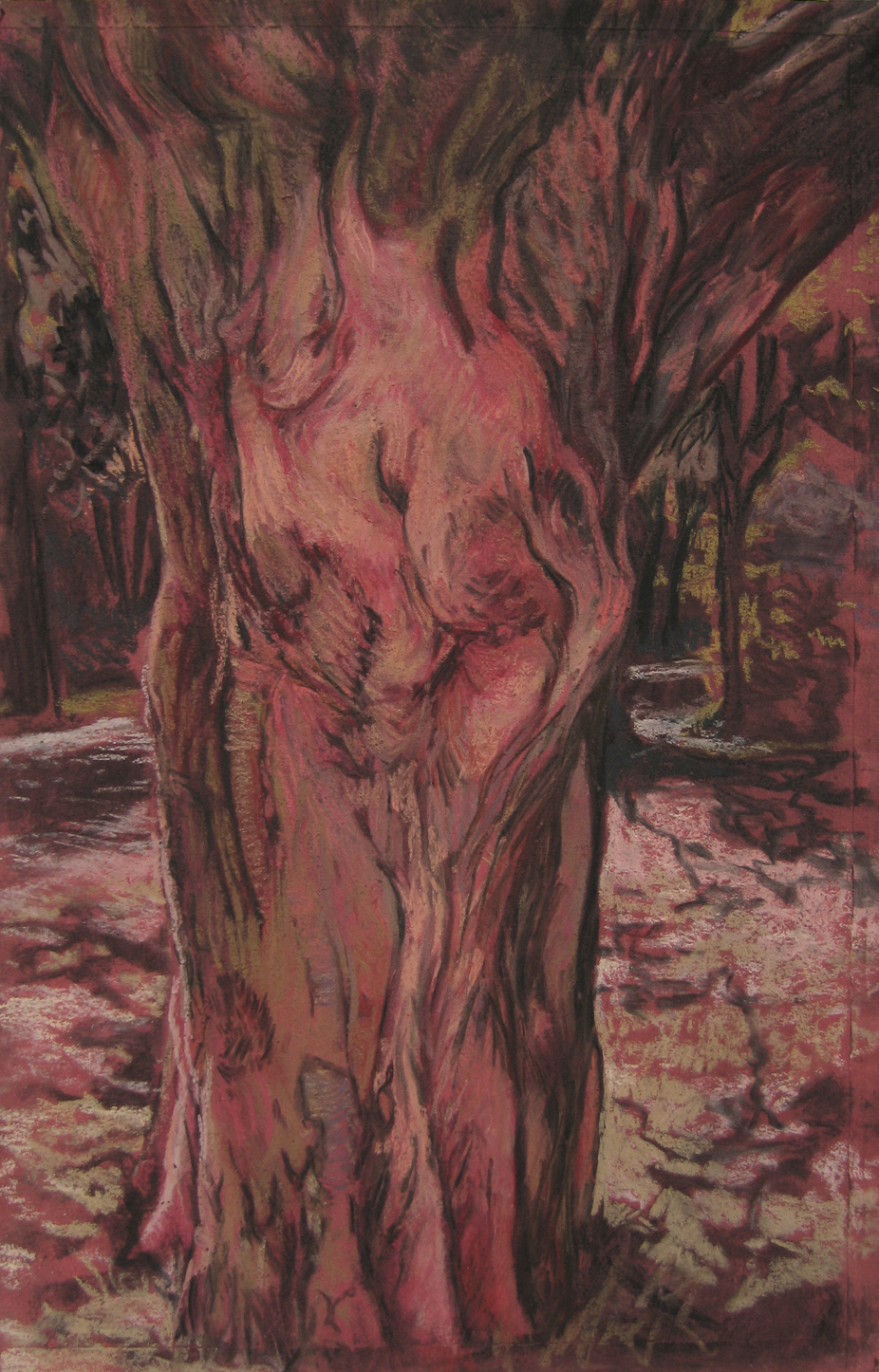 Daphne turned into a tree…, 2015