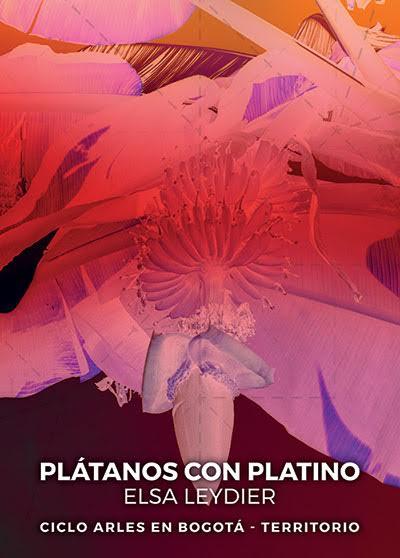 Plátanos con Platino Exhibition Poster.