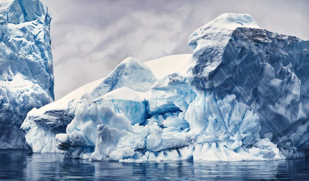 Whale Bay, Antarctica no.4, 84x144, 2016.jpg