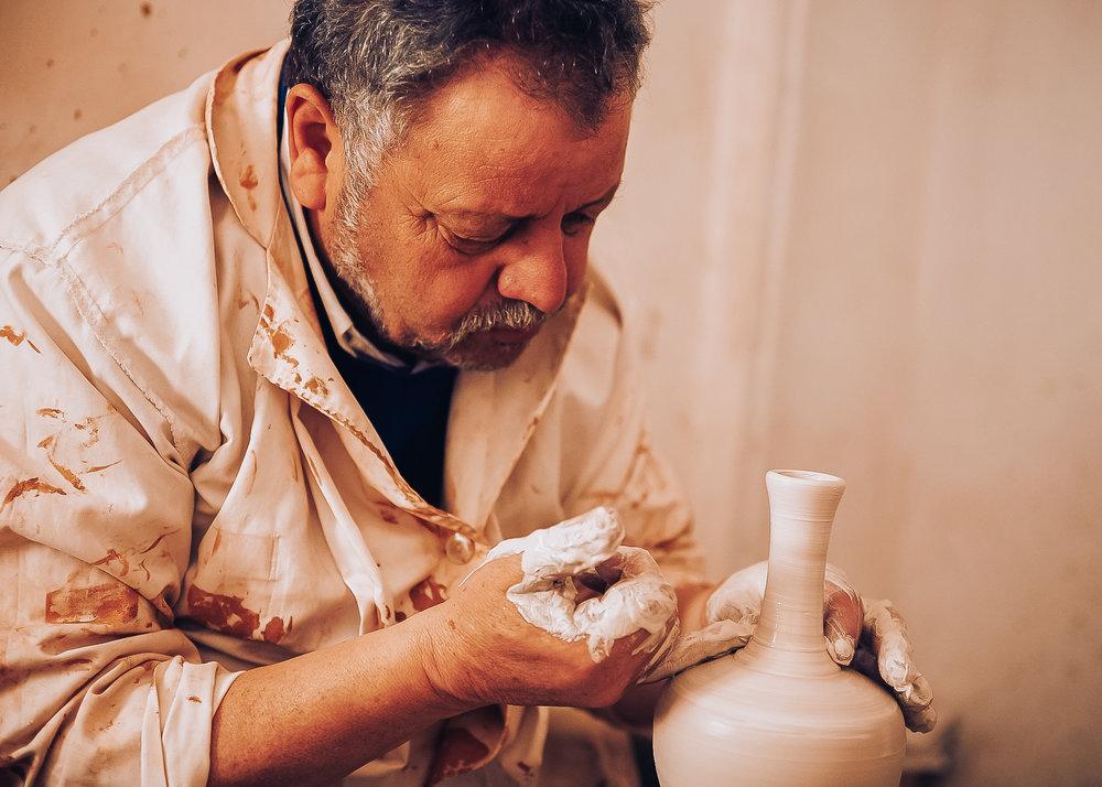 Safi Morocco Pottery