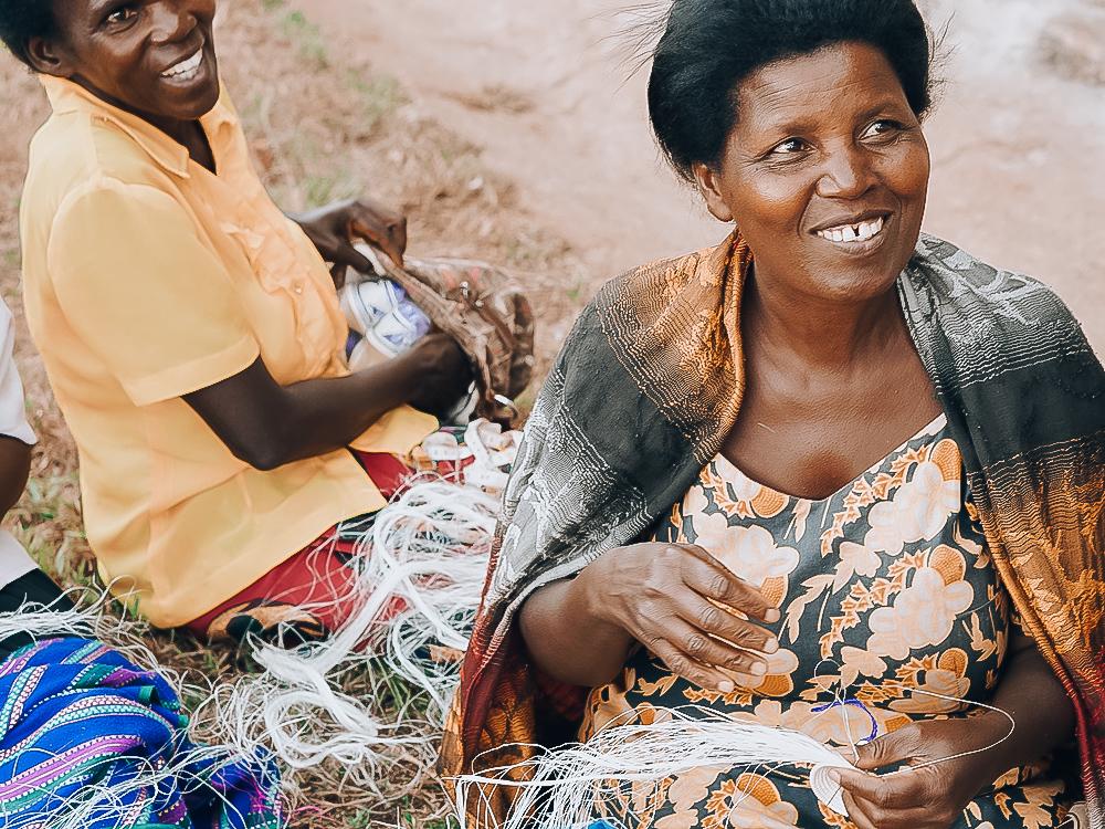 Rwandan Weavers