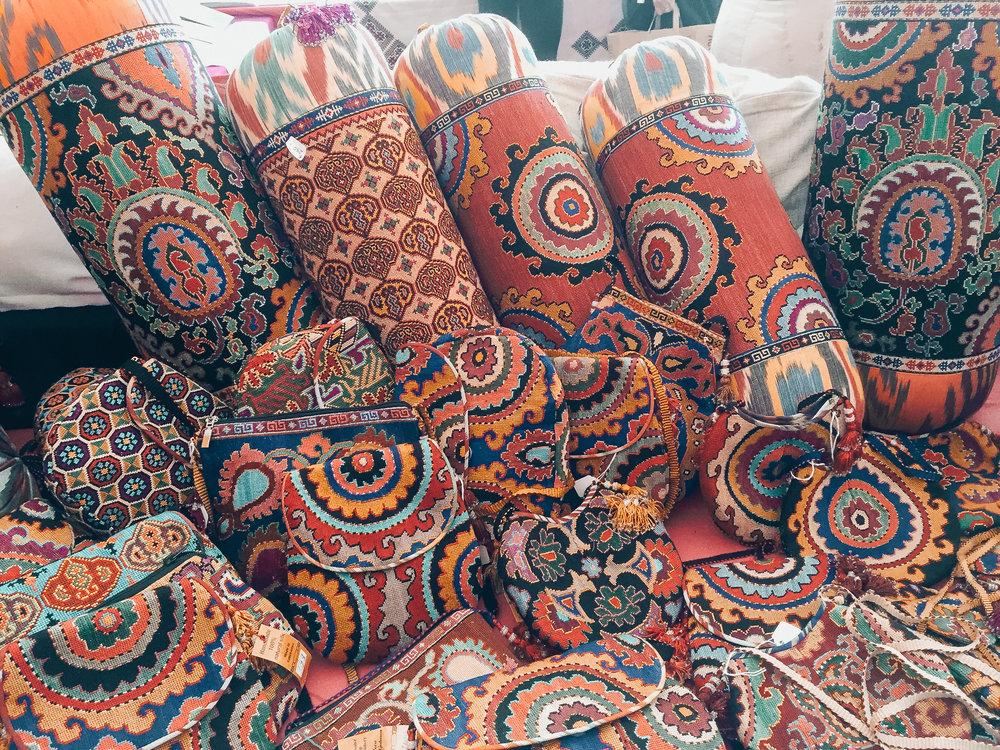 Uzbekistan Hand-Embroidered Goods