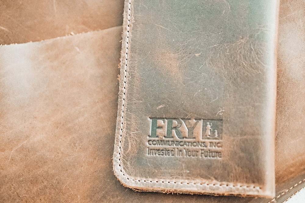 Fry Comm Custom Leather iPhone Wallets