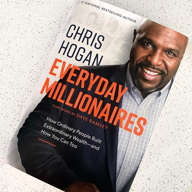 """Chris Hogan & the Ramsey team have completed the largest study of millionaires to date (10k of them) - to discover how these people reached their financial status. This book chops down myth after myth after myth that our culture force-feeds us about becoming wealthy.  This book especially hits close to home because no one ever speaks up for the MAJORITY who don't come from upper-class families, who worked HARD to build their wealth, who quietly give back to others, and who didn't inherit a dime.   """"The idea - the notion that wealthy people are simply lucky lottery winners, married into money, or have some genetic advantage that normal people don't have - is a myth, and it's one that will you keep you from becoming a millionaire yourself if you believe it."""" - Chris Hogan  📊 Check out my stories (under the """"money"""" highlights) for a few of the statistics they found. #everydaymillionaires #buildwealth #smartcon #consistencyiskey"""