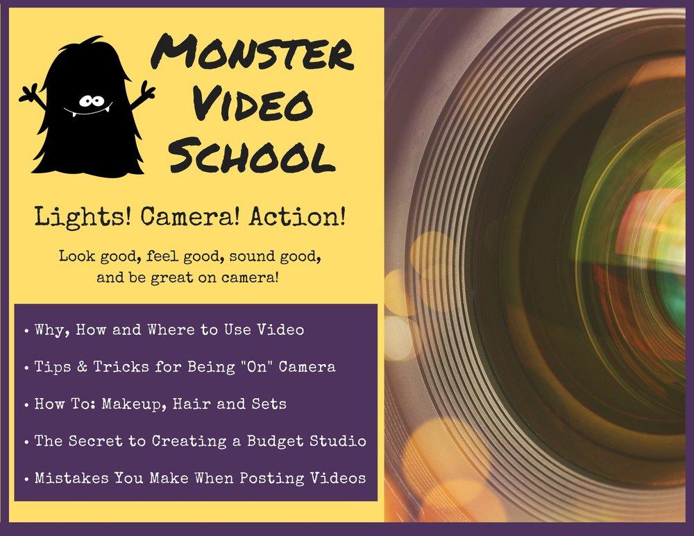 Monster Video School Header