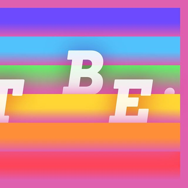Just Be. 🏳️🌈 #HappyPride! • • • • • #happypridemonth #happypride🌈 #lacreatives #TeamFriday #pridemonth2018 #pride2018