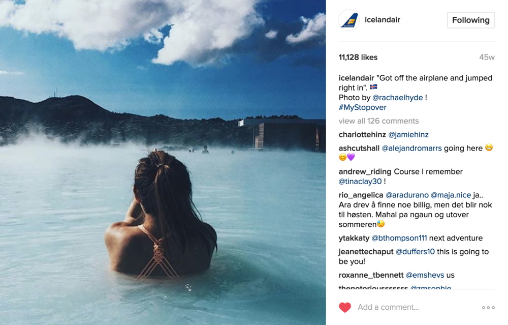 Iceland Air Instagram