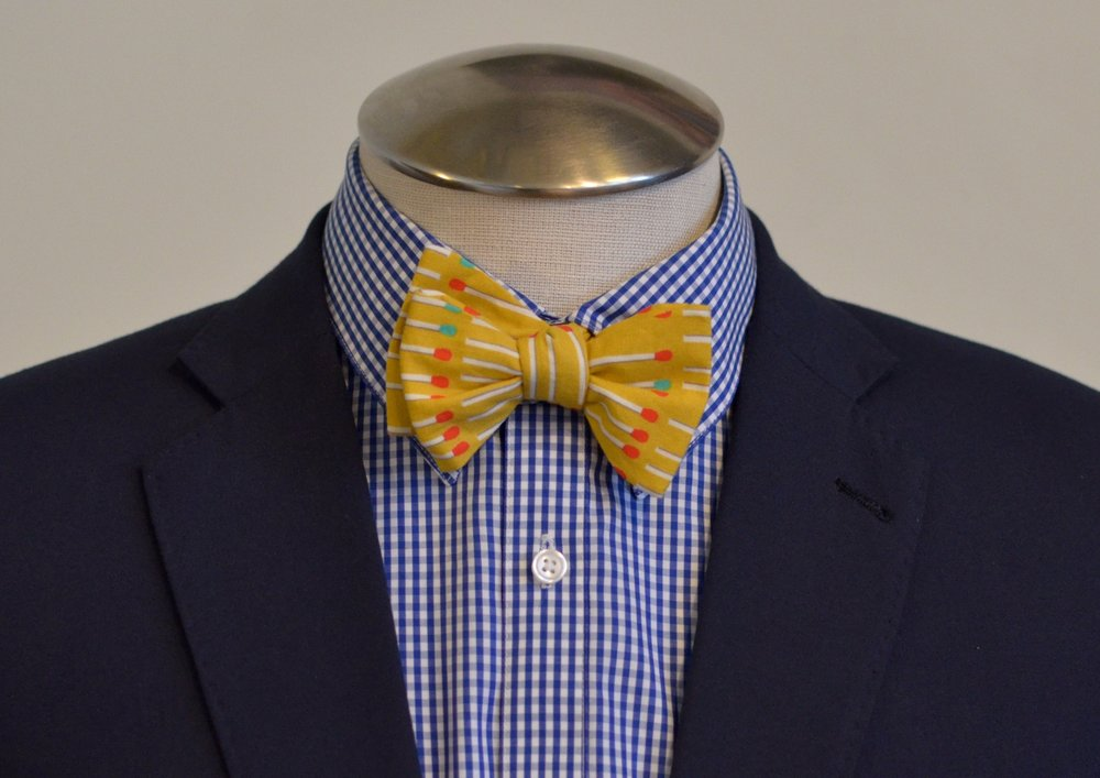 Introducing Custom Accessories - Pocket Squares, Bowties, and Neckties!