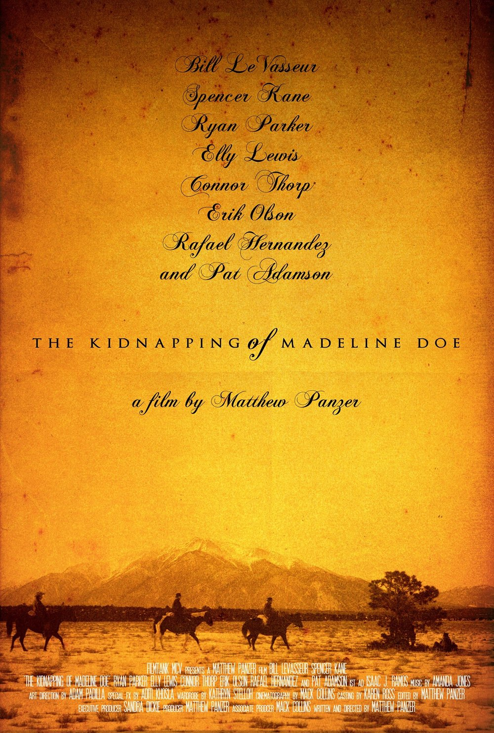 """The Kidnapping of Madeline Doe"" Director: Matthew Panzer"