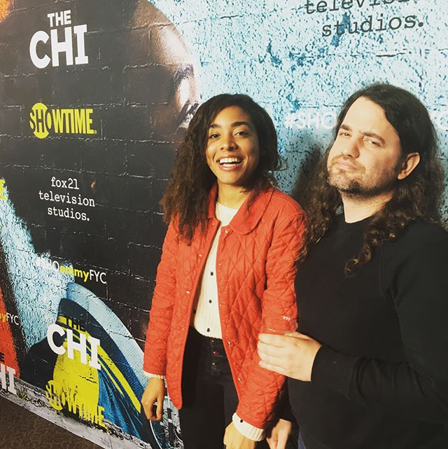 @shothechi #FYC was lit! @lenawaithe keep doing your thing! ✊🏽💕 . . . #losangeles #music #film #experimental #anti #rocknroll #afropunk #instagood #followme #theantijob #ootd #art #artfilm #avantgarde #film #filmscoring #showtime #lenawaithe #thechi #shoemmyfyc