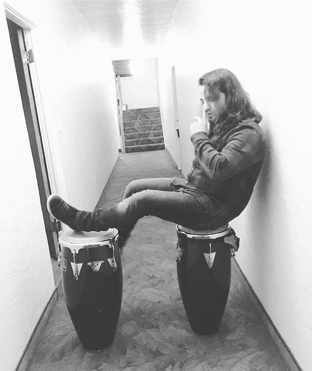 THIS crazy guy - does all my perc tho! 🕺🏿BEST percussionist in LA ✊🏽 . . . #losangeles #music #live #experimental #indierock #antijob4life #anti #rocknroll #afropunk #instagood #followme #theantijob #ootd #art #artfilm #avantgarde #film #filmscoring