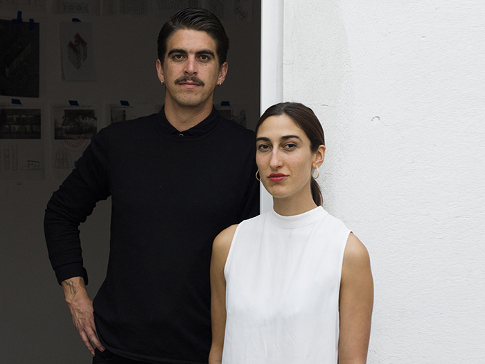 Isabel Abascal  and  Alessandro Arienzo  of  LANZA Atelier.