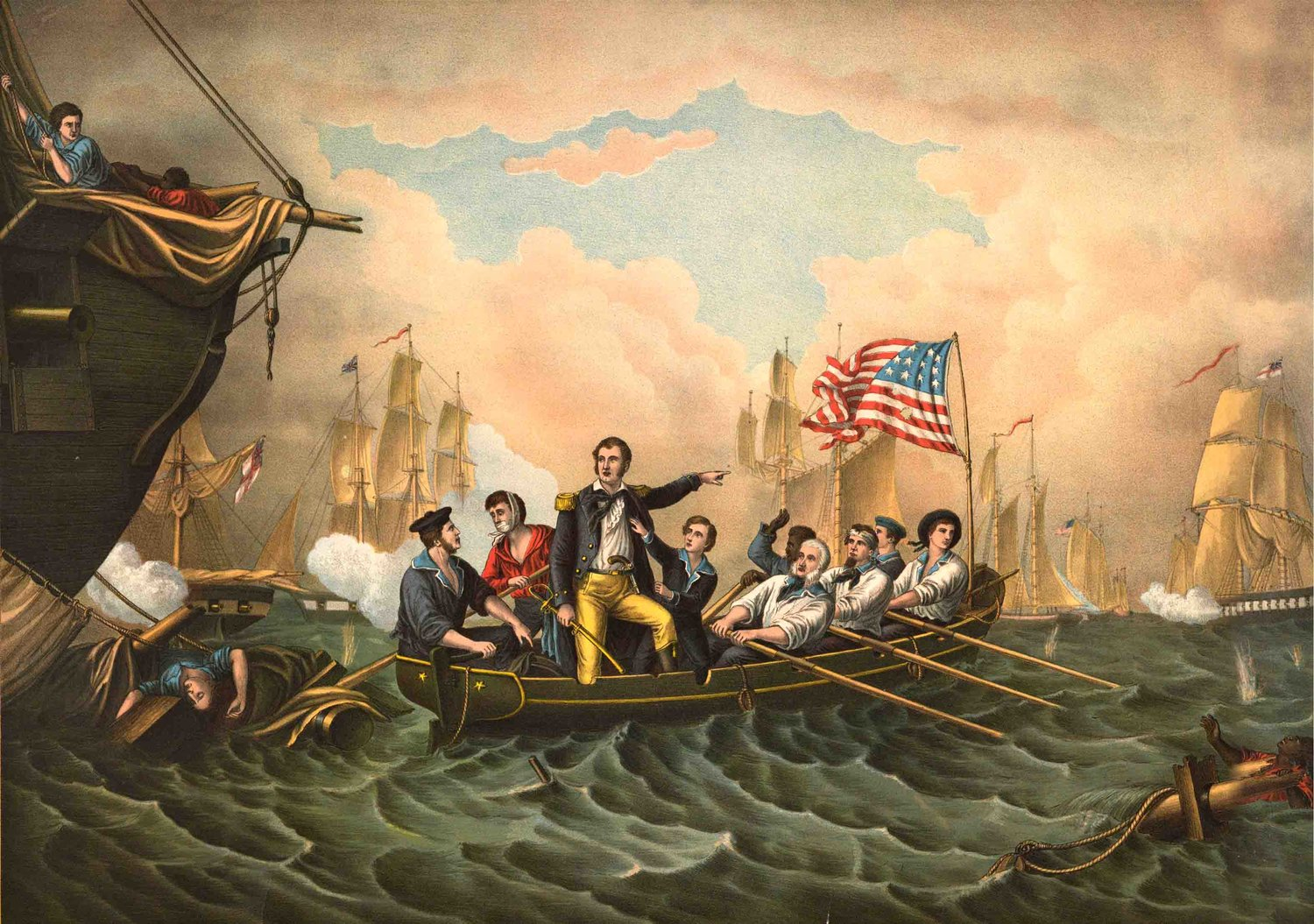 battle of lake erie oliver hazard perry