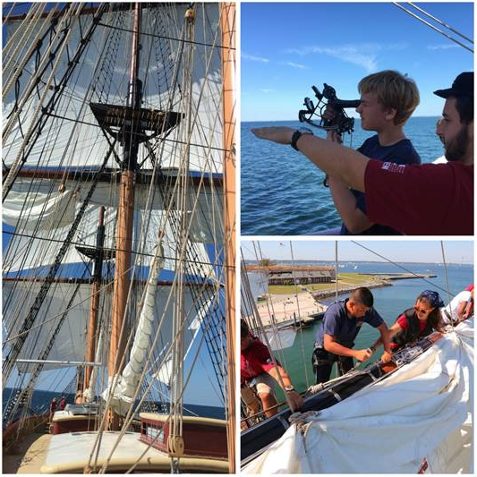 SSV  Oliver Hazard Perry  has set its 2017 schedule after a successful   first season of summer programs in New England  . (left and top: courtesy OHPRI, bottom right: credit Mark Russell)  Available for download in high resolution by clicking the photo