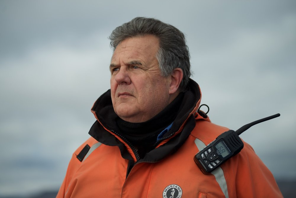 Ken Burton: Maritime Historian and Chief Polar Bear Safety Officer