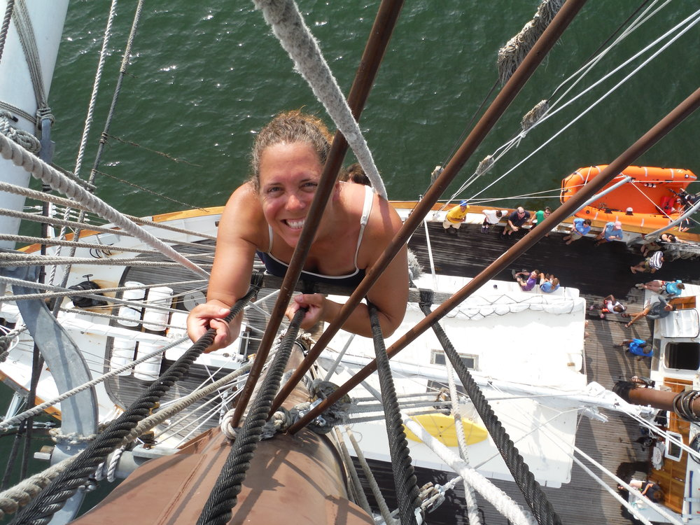 Sailing for Success trainee in 2015