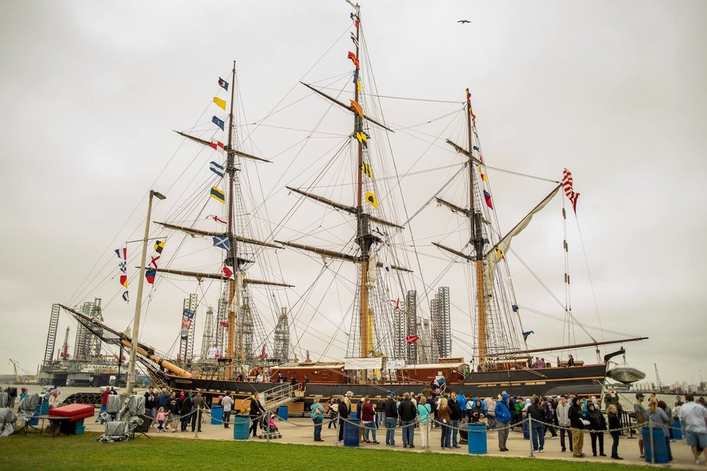 by Tall Ships Galveston