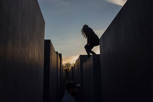 Holocaust Memorial (1/2)  The 2,711 concrete stelae are designed to produce an uneasy, confusing atmosphere, and the whole sculpture aims to represent a supposedly ordered system that has lost touch with human reason.  #holocaust #memorial #berlin #architecture #photography #beyond #theworldyousee