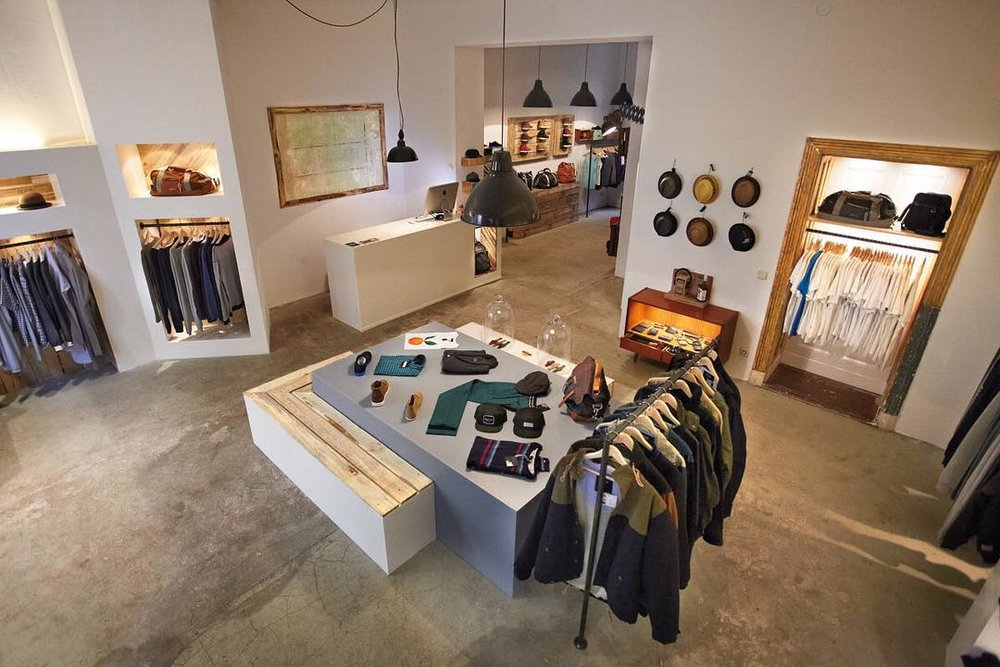 Boutique multi brand store in Friedrichshain catering to a range of sneakers, jackets and bags among other accessories @stereoki