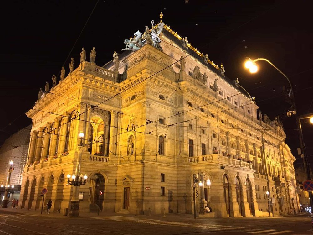 see prague narodni divadlo national theatre