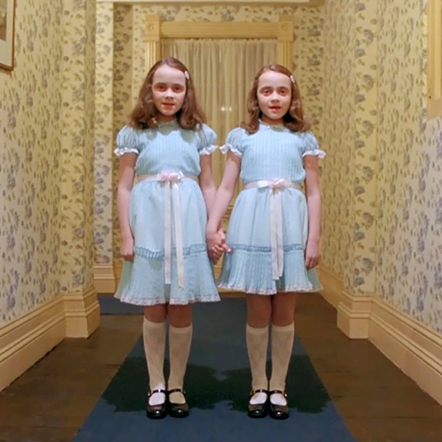 "Twins from ""The Shining"""