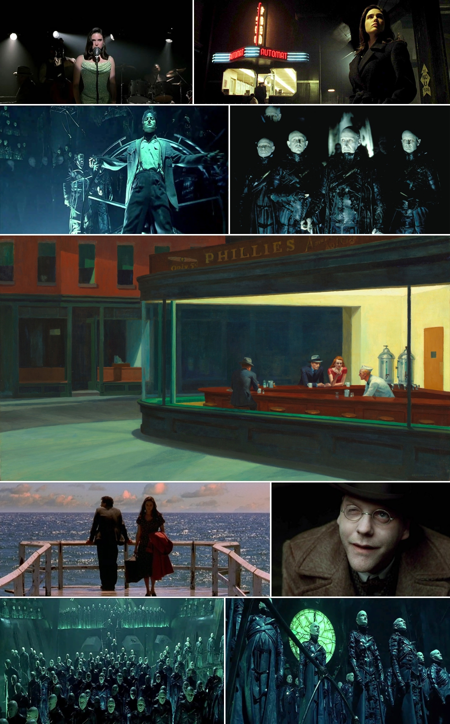 Dark City Collage