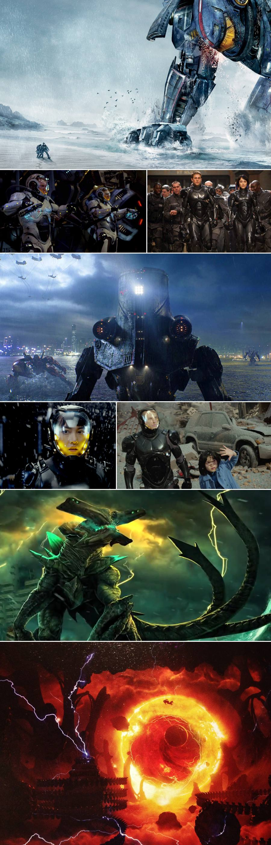 Pacific Rim Movie Stills