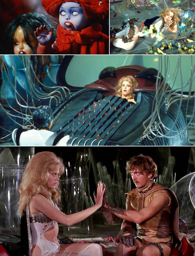 Barbarella Movie Stills