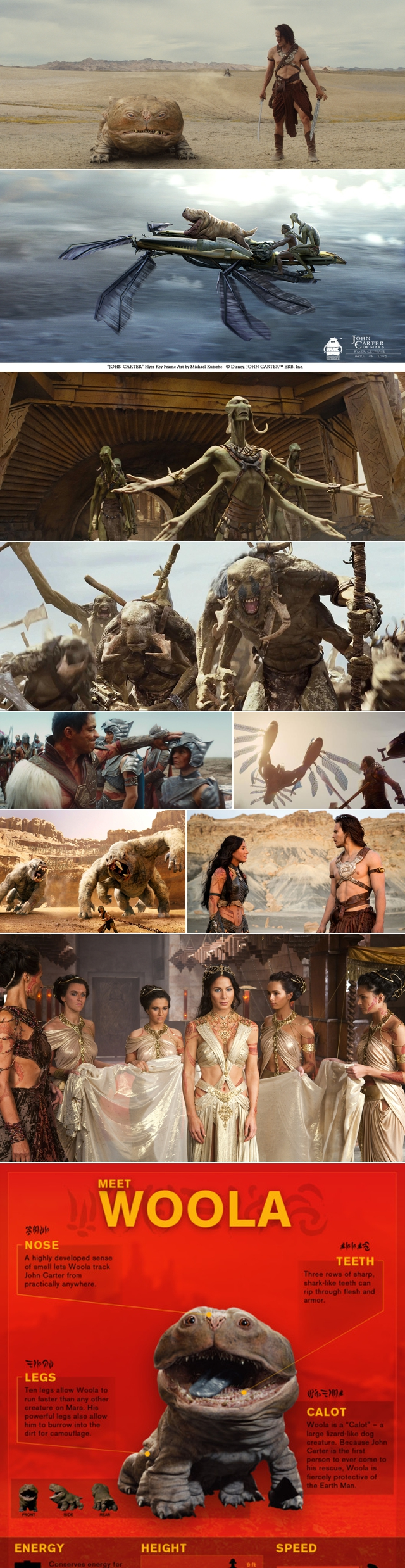 The Alien Movie Project Watched John Carter