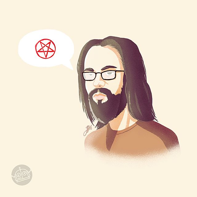 G I L F O Y L E . .  One of the best characters in @siliconhbo . Being in the creative industry, iv met many Gilfoyles throughout my career. So watching @martinstarr nail this personality so perfect makes the show that much better. . . . #siliconvalley #hbo #gilfoyle #martinstarr #illustration #procreateapp #designer #illustrator #fanart #artstagram #instagood #instaart #ipadpro #applepencil #drawingoftheday #artoftheday #follow #gallery #share