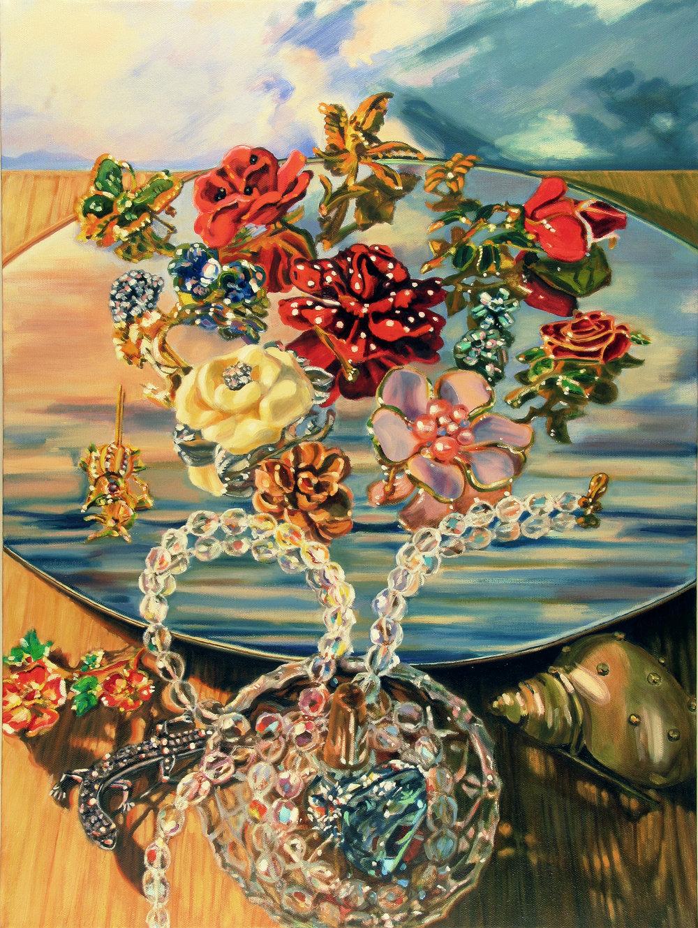 "Dutch Floral © 2007 Oil on canvas 24 x 18"""