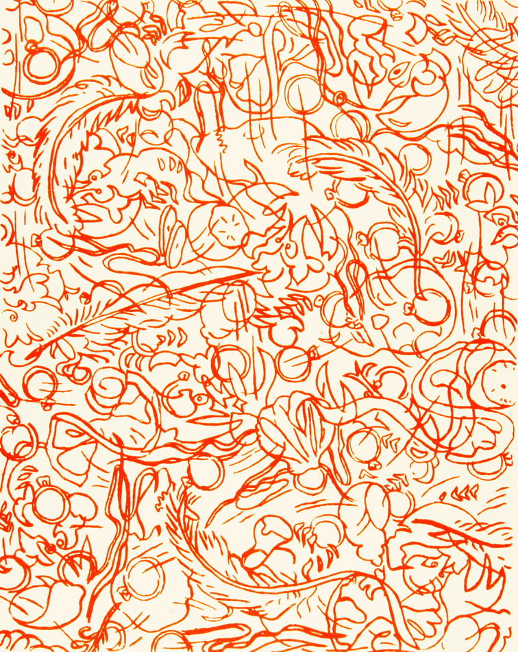Etcha Vanitas © 2011 Silkscreen on paper 20 x 17""