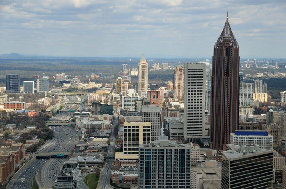 Downtown Atlanta, Georgia - located near our case study site.