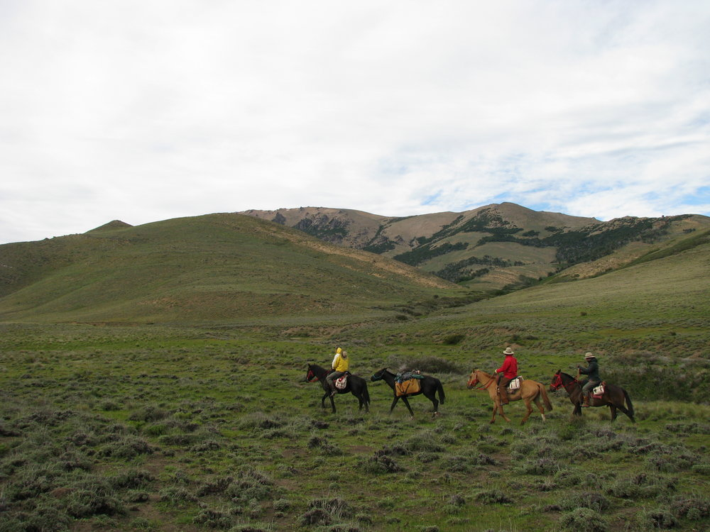 Traveling by horseback opened up opportunities to explore rural areas in Argentina where no roads traveled.