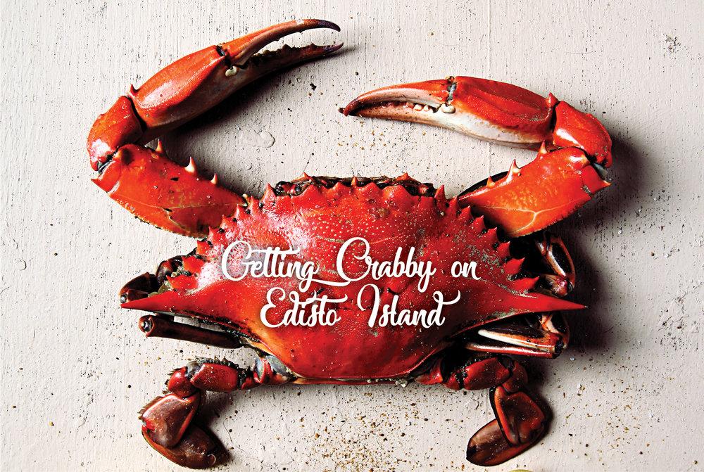 Crabbing on Edisto Island