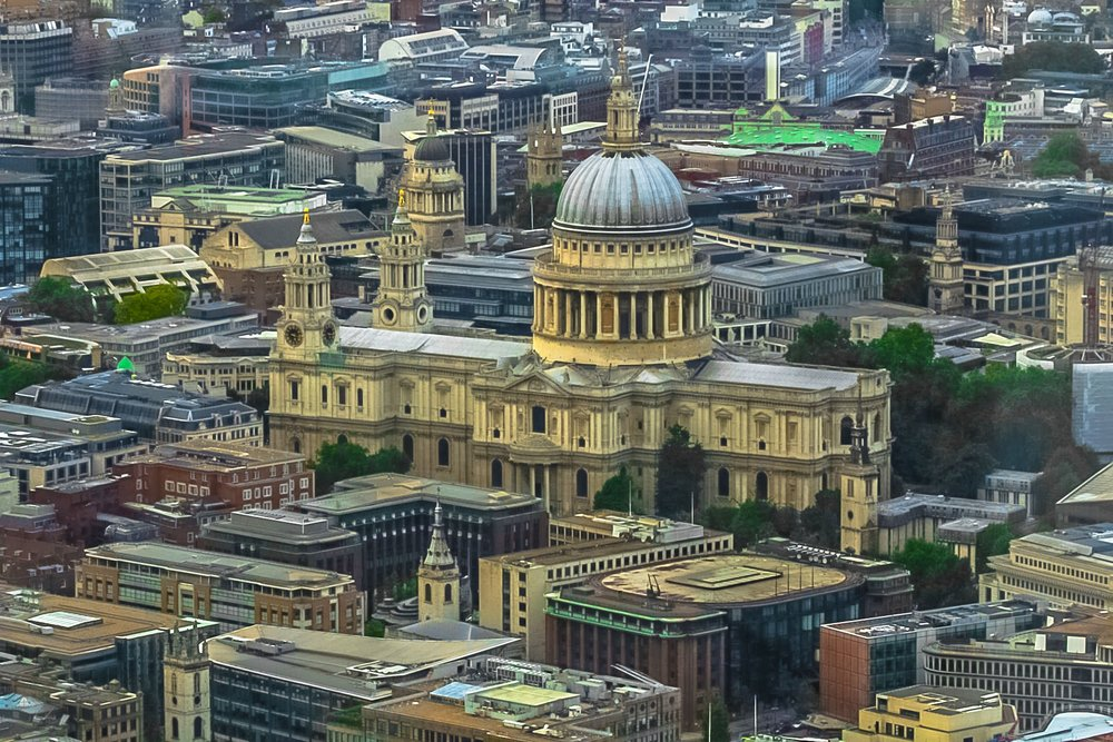 St. Paul's Cathedral, London. Sir Wren Architect.
