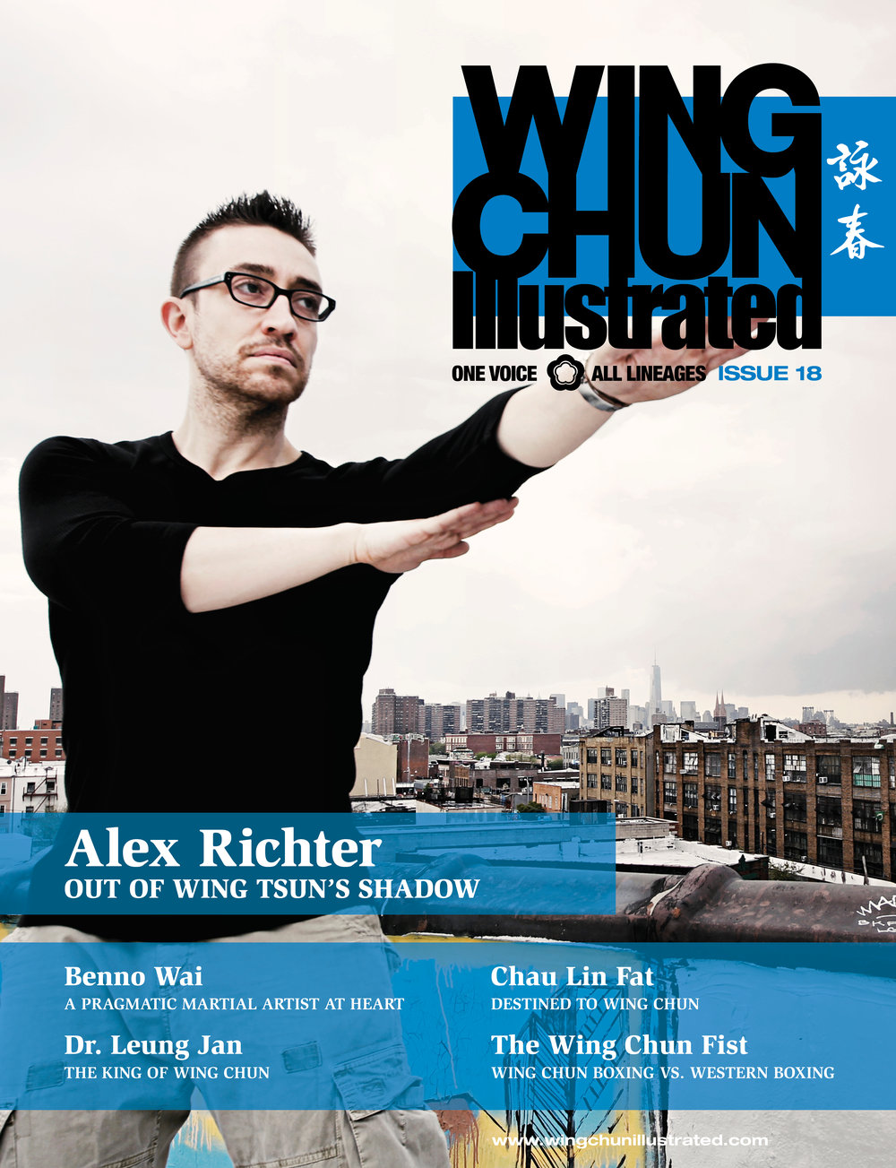 Sifu Alex Richter Cover Wing Chun Illustrated