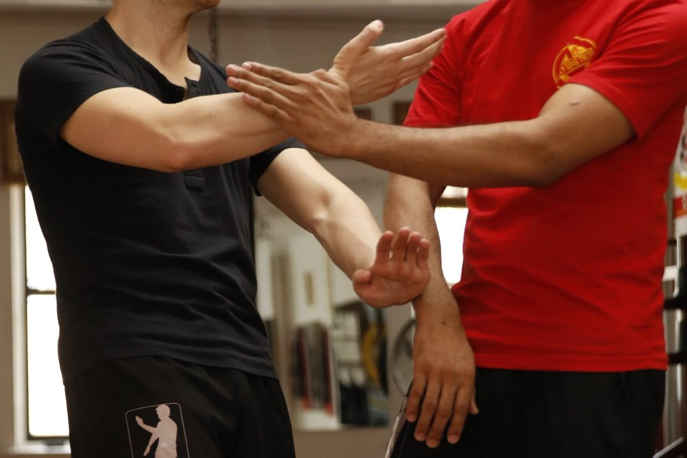 The High/Low Jut Sau training in Wing Tsun is fundamental to dealing with stronger and stiffer opponents.